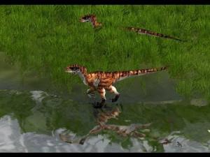 Jurassic Park Operation Genesis Velociraptor