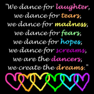 Hip Hop Dance Quotes Sayings