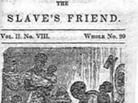 The Slave's Friend, Volume II, p. 3 New York: American Anti-Slavery ...