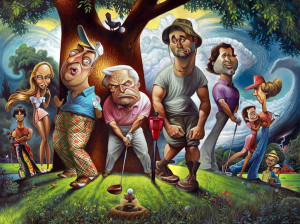 Bushwood – A Tribute to Caddyshack ($129 to $4,015)