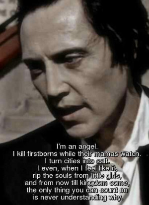 Tag Archives: Christopher Walken Quotes