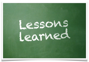 Life's Lessons Learned