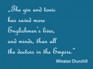 Gin and Tonic Quotes