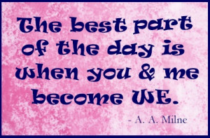 Romantic Quotes For Girlfriend A short, sweet, romantic quote