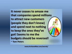 Quote on customer service by Tom Peters. Find more on customer service ...