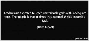 More Haim Ginott Quotes