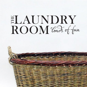 ... the laundry room loads of fun vinyl wall lettering quotes and sayings
