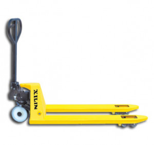 The Xilin NF pallet jack is extremely maneuverable and is equipped ...