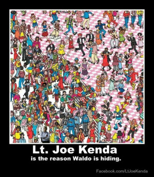 Lt joe kenda, waldo, homicide hunter