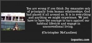 Go Back > Gallery For > Chris Mccandless Quotes
