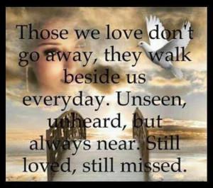 Love ones in heaven