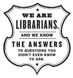 Libraries & Librarians Rock & Kick Ass!
