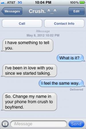 ... messages # i love him # love # my crush # i love my crush # texting