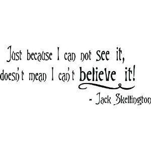Jack Skellington quote