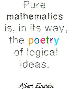 Math quotes, deep, thoughts, sayings, poetry