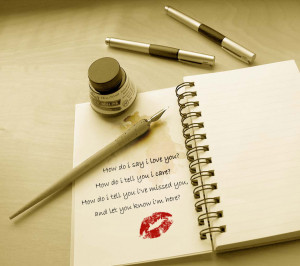quotes,quote,maxim,aphorism,motto,love,ink,pens,diary,red lips,retro ...