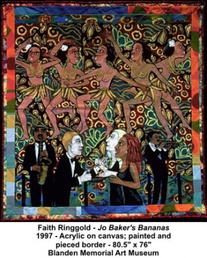 Quotes by Faith Ringgold . Inspirational, motivational, funny and ...
