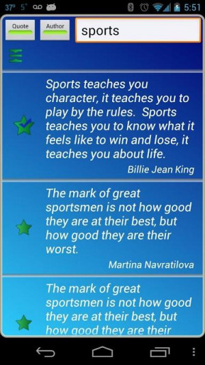 Sports Quotes Screenshot 4