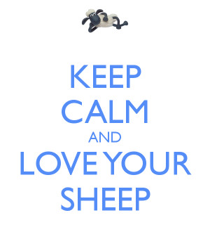 sheep love by joannagebka first love sheep print sheep love sheep love ...