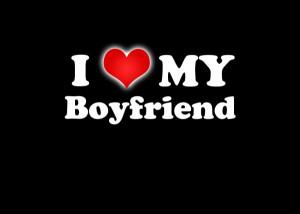 Boomerang Kaart: I love my Boyfriend