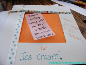 Thrifty Thursday: Framed Sayings ~ Art to Pass Along
