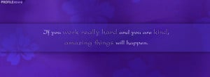 Inspirational Quote Facebook Cover for Timeline Preview