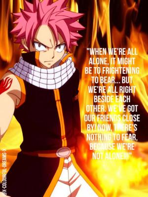 Fairy Tail Quotes Natsu Fairy Tail Edit Natsu