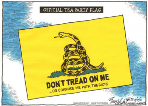 Tea Party Flag Flies Proudly