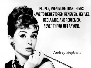30 Hearty Audrey Hepburn Quotes