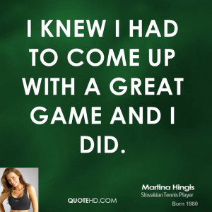 Tennis Players Quotes