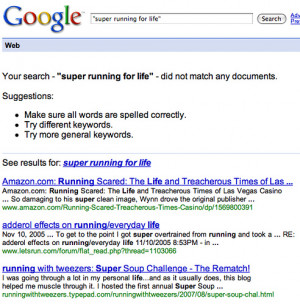 Google Changes Behavior For Showing Results Queried in Quotations