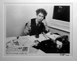 ... ideas that we can draw from Malcolm McLaren and the start of punk