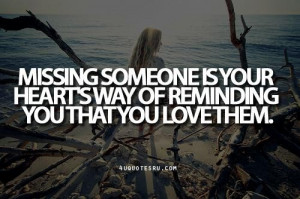 ... hearts way of reminding you that you love them inspirational quote