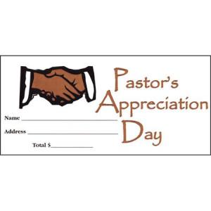 Pastor Appreciation Day Envelope - Offering Envelope