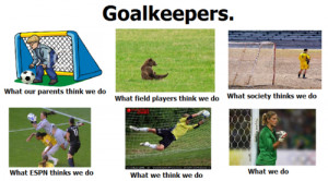 Soccer Goalie Quotes Tumblr Goalkeeper problems - you have