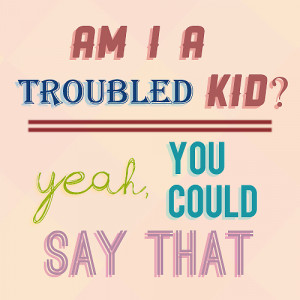 lukecastellun:FAVORITE PJO QUOTES ★ ;Am I a troubled kid? Yeah. You ...