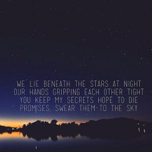 Stargazing Lovers Stargazing is for lovers.