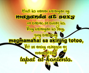 Pinoy Love Quotes Tagalog Text Messages You Shouldnt