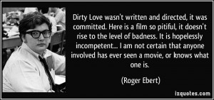 Dirty Love Wasn Written And...