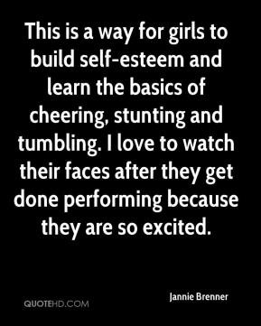 This is a way for girls to build self-esteem and learn the basics of ...