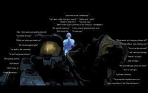 Halo Trilogy Quotes by Jimzydoodah