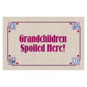Grandchildren spoiled here!
