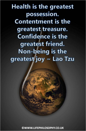 Life Quote - Lao Tzu www.lovehealsus.net
