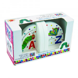 ... Very-Hungry-Caterpillar-Eric-Carle-Book-Ends-Bookends-Childrens-Decor