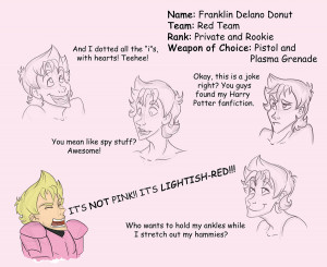 RvB Donut sketches by BriarRose86