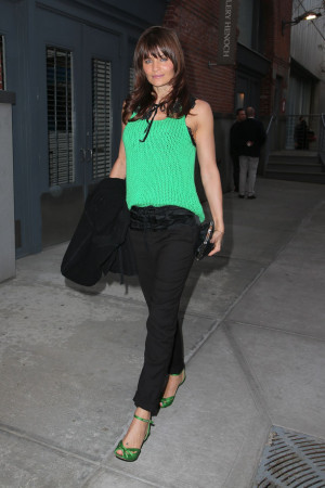 Helena Christensen In NYC – Fashion Photography Exhibition March