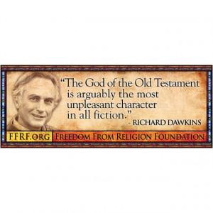 Richard Dawkins, quote, god, new testament