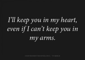 ll keep you in my heart...
