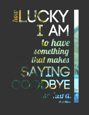 Quotes About Saying Goodbye 1 images above is part of the best ...