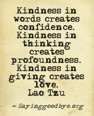 Kindness #Love #Friendship #Quote